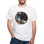 Fawn's Tri White T-Shirt