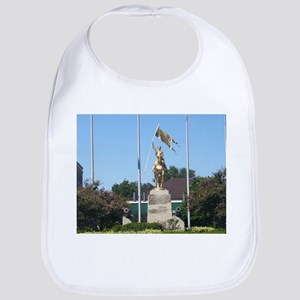 Saint Joan of Arc statue Bib