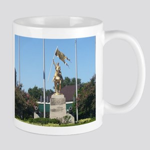 Saint Joan of Arc statue Mug