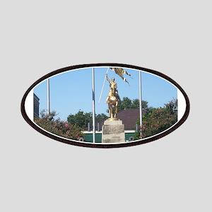 Saint Joan of Arc statue Patches