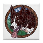 Fawn's Redheaded Tile Coaster