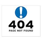 404 Error Small Poster