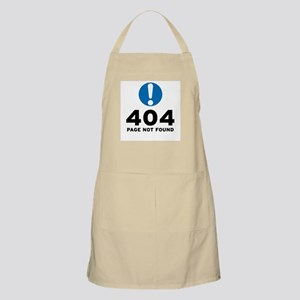 404 Error Apron