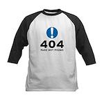 404 Error Kids Baseball Jersey