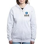 404 Error Women's Zip Hoodie