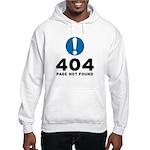 404 Error Hooded Sweatshirt