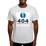 404 Error Light T-Shirt