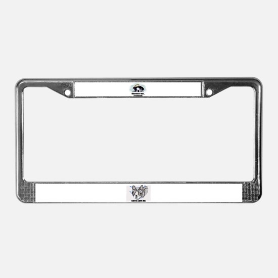 WHATEVER IT WAS IM INNOCENT  License Plate Frame