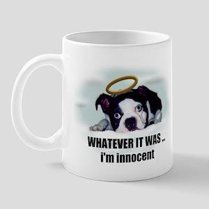 WHATEVER IT WAS IM INNOCENT  Mug
