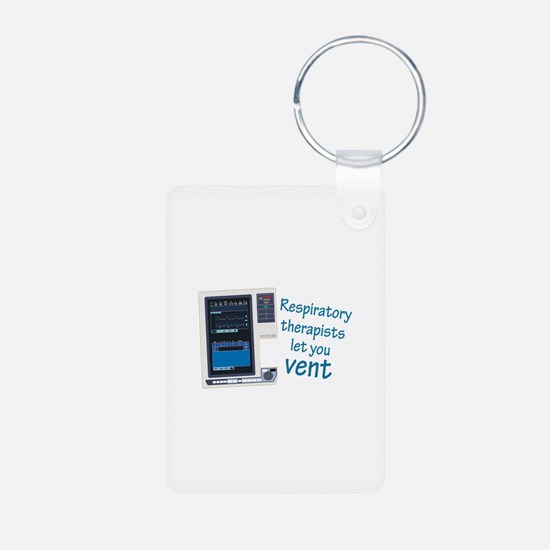 Cute Respiratory therapy Keychains