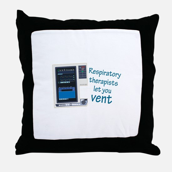 Unique Respiratory Throw Pillow