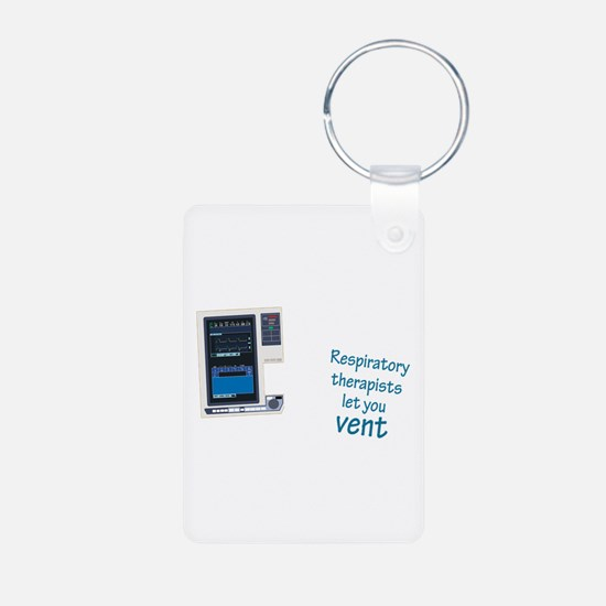 Funny Respiratory therapy Keychains