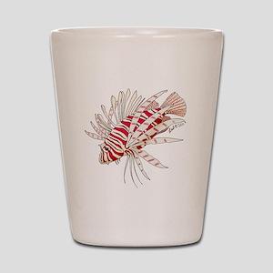 Lionfish Shot Glass