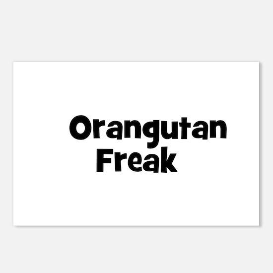 Orangutan Freak Postcards (Package of 8)