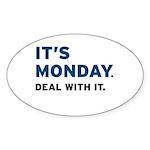 It's Monday... Sticker (Oval 10 pk)