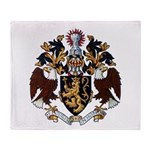 American College of Heraldry Throw Blanket