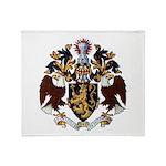 American College of Heraldry Throw Blanket