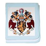 American College of Heraldry baby blanket