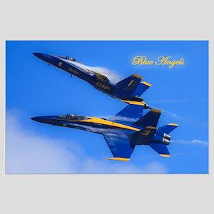 U.S. Navy Blue Angels Large Poster