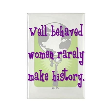 Women Make History Rectangle Magnet (100 pack)