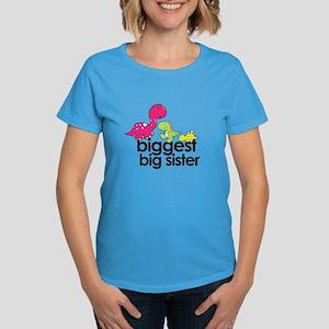 big sister varsity Women's Dark T-Shirt