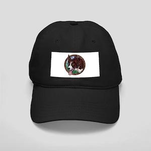 Fawn's Redheaded Black Cap