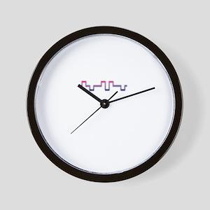 Bipolar Beat Wall Clock