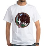 Fawn's Redheaded White T-Shirt