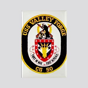 USS Valley Forge CG 50 Rectangle Magnet