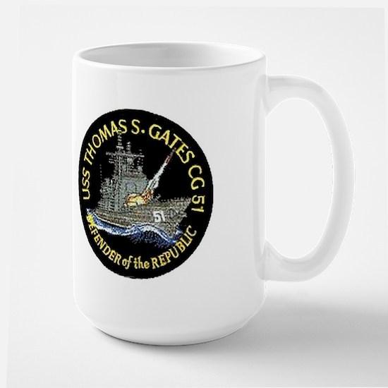 USS Thomas S. Gates CG 51 Large Mug