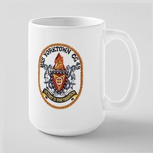 USS Yorktown CG 48 Large Mug