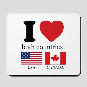 USA-CANADA Mousepad