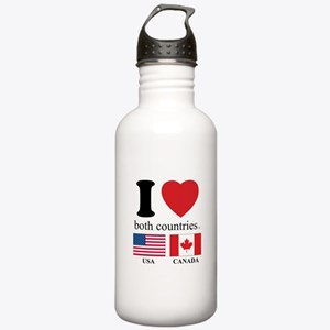 USA-CANADA Stainless Water Bottle 1.0L