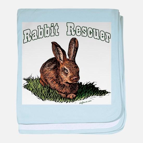 Rabbit Rescuer baby blanket