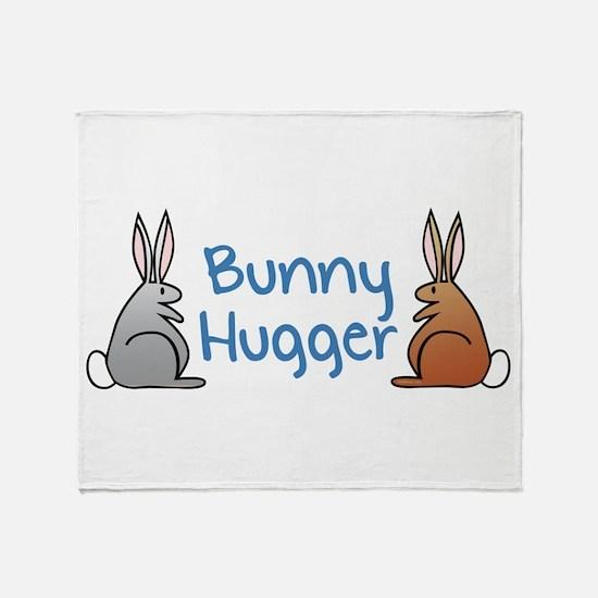 Cute Bunny hug Throw Blanket