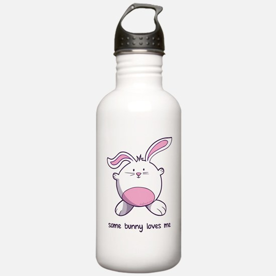 Some Bunny Loves Me Water Bottle
