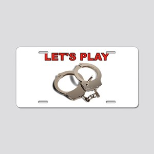 PLAYTIME Aluminum License Plate