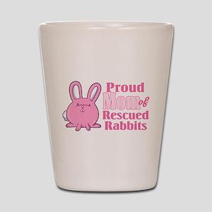 Rescued Rabbits Mom Shot Glass