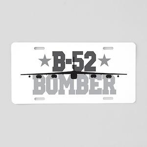B-52 Aviation Aluminum License Plate