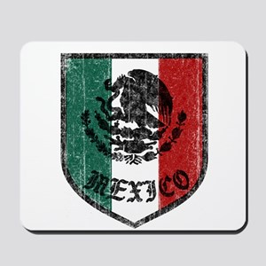 Mexican Flag Crest Mousepad