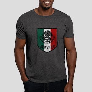 Mexican Flag Crest Dark T-Shirt