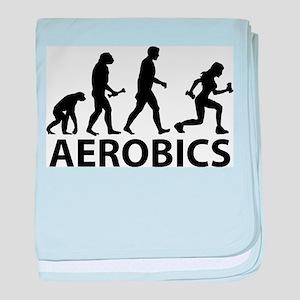 Aerobics Evolution baby blanket
