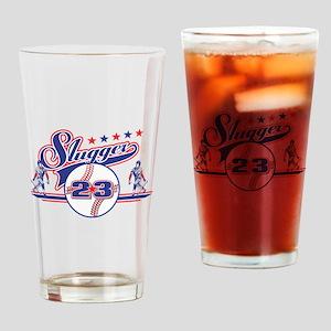 Slugger Baseball Pint Glass