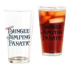 Bungee Jumping Fanatic Pint Glass