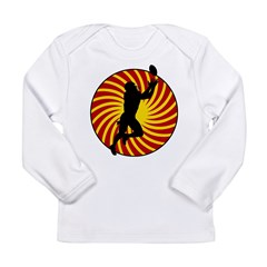 Football Long Sleeve Infant T-Shirt