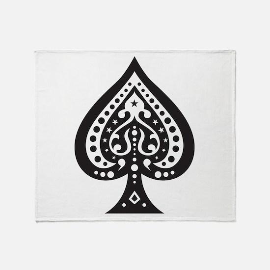 Spade Throw Blanket