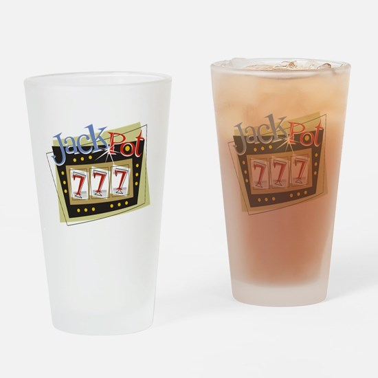 Jackpot 777 Pint Glass