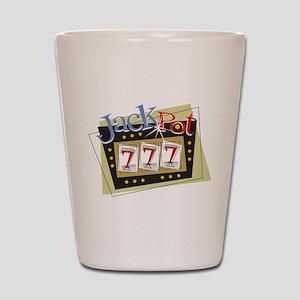 Jackpot 777 Shot Glass