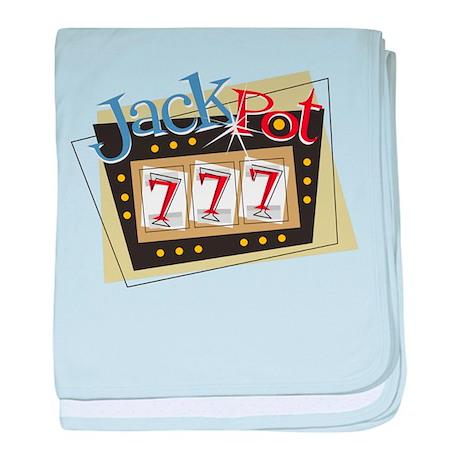 Jackpot 777 baby blanket