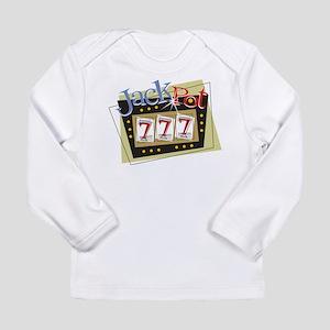 Jackpot 777 Long Sleeve Infant T-Shirt